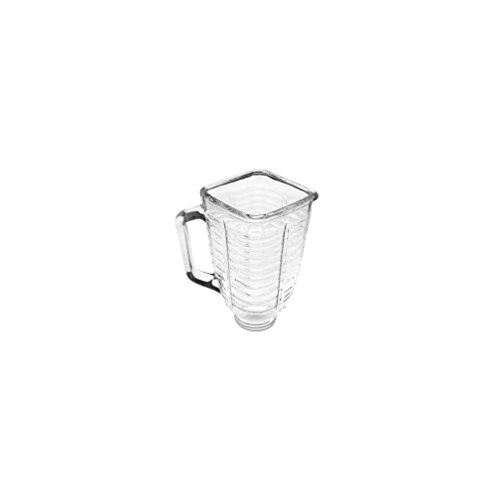 5 Cup Square Top Glass Blender Replacement Jar for & Osterizer New (Osterizer Classic Lid compare prices)