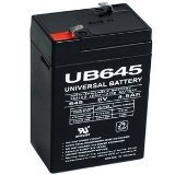 UPG UB645 Sealed Lead Acid Batteries
