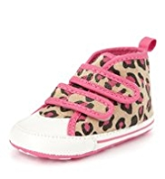 Riptape Animal Print Pram Trainers