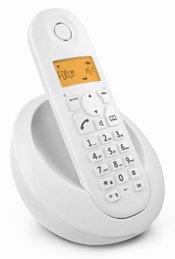 Motorola C601I Cordless Phone | WHITE
