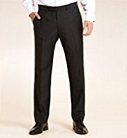 Flat Front Eveningwear Slim Fit Trousers