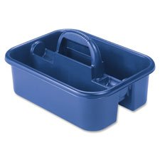 "Tote Caddy, 13-3/4""x18-1/4""x8-3/4"", Blue, Sold as 1 Each"