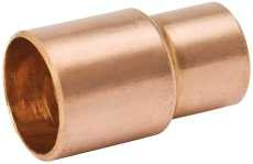 Copper Fitting Reducer Ftg X C 1-1/2