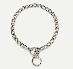 Coastal Pet Products DCP552520 Titan Medium Chain Dog Training Choke/Collar with 2.5mm Link, 20-Inch, Chrome