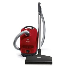 Miele S2181 Titan Canister Vacuum - Mango Red