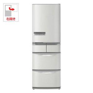 日立 415L 5ドア冷蔵庫(ハイブライトステンレス)HITACHI ビッグ&スリム60 R-K42D-SH