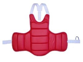 Karate Reversible Competition Chest Guard - Senior