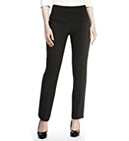 M&S Collection Modern Slim Leg Jacquard Diamond Trousers