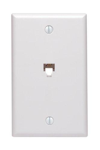 leviton-40539-pmw-midsize-telephone-wall-jack-6p4c-white