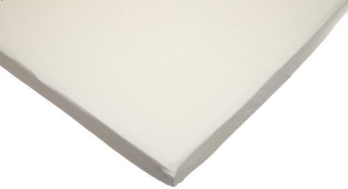 American Baby Company Organic Cotton Interlock Portable Fitted Crib Sheet, Natural