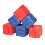 Foamnasium Baby Blocks, 3 Red/Blue - 1