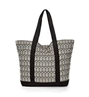 Pure Cotton Block Print Shopper Bag