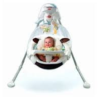 Fisher-Price My Little Lamb Cradle 'n Swing 4 D battery powered (Fisher Price My Little Lamb compare prices)