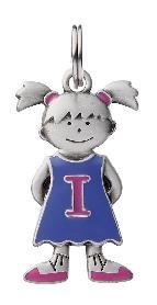Initial Kid's Tag - Girl - I