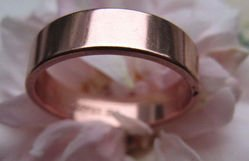 Solid Copper Ring CR040 Size 6