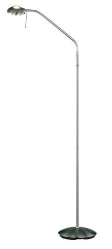 Halogen Stehleuchte in nickel matt, inklusive 1x28W ECO G9 mit Touche Me Dimmer 4912011-07