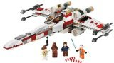 buy lego star wars best price - Lego Star Wars X-Wing Fighter with Luke Skywalker , Wedge Antiles , R2-D2 , Princess Leia , Han Solo and Chewbacca Mini Figures :  toys lego star wars lego star wars xwing fighter star wars toys