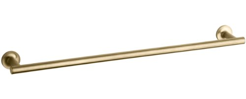 KOHLER K-14436-CP Purist 24-Inch Towel Bar Polished Chrome