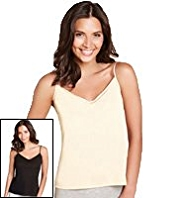 2 Pack V-Neck Assorted Camisoles