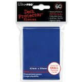 Ultra Pro Card Supplies YUGIOH Deck Protector Sleeves Blue 60 Count - 1