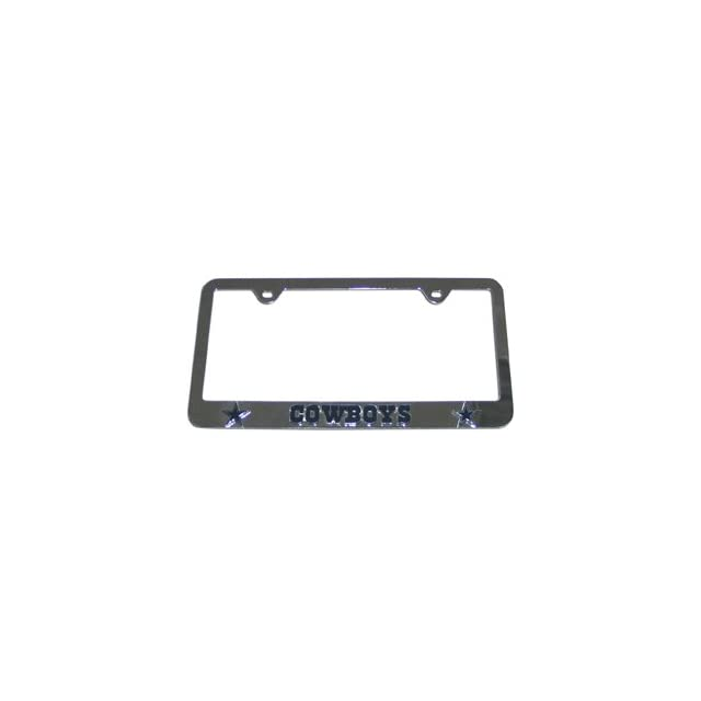 NFL Dallas Cowboys License Plate Frame   3D Deluxe