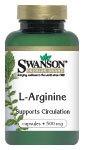 Swanson L-Arginine 500mg (200 Capsules)