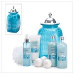 Coconut Vanilla Scent Home Bath Luxury Lotion Gift Set