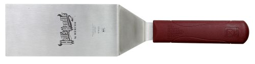 Mercer Culinary Hell's Handle M18320 Large 18/8 Stainless Steel Square Edge Turner