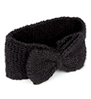 Bow Knitted Headband