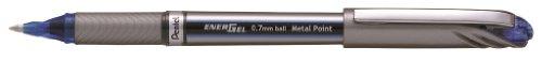 Pentel BL27 - Bolígrafo (Plata, Azul, Metal)