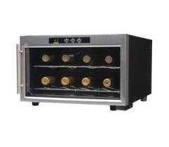 Emerson 8 Bottle Wine Cooler With Thermal Glass Door front-585030