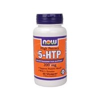 Now Foods - 5-HTP 200mg, 60 vcaps (Pack of 12)