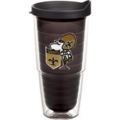 Tervis Tumbler NFL New Orleans Saints Sir Saint Mascot Jewel 24oz with Travel Lid at Amazon.com