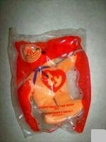 1 X TY McDonald's Teenie Beanie - #7 HAPPY MEAL the Bear (2004)