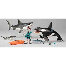 Great-White-Shark-Killer-Whale-Playset-Animal-Planet
