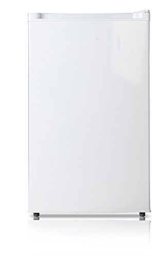 Midea WHS-109FW1 Compact Single Reversible Door Upright Freezer, 3.0 Cubic Feet, White (Best Chest Freezer compare prices)