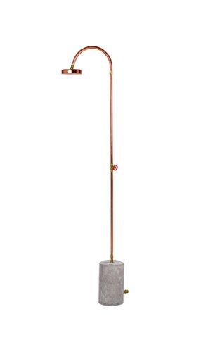 Seletti 04064KIT Aquart Lux Shower trasformati Cement-Cemento con Base In rame