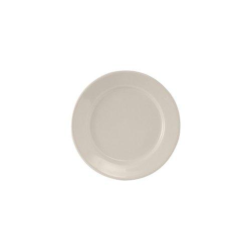 "Tuxton Tre-008 Reno 9"" Round Eggshell Plate - 24 / Cs"