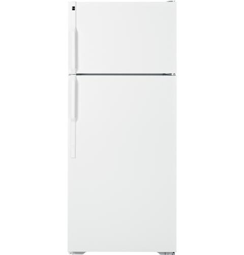 hotpoint hts18bbeww 18.1 cu. ft. white top freezer refrigerator