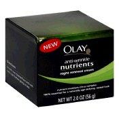 Olay Anti-Wrinkle Nutrients Night Renewal Cream-2 oz