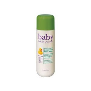 Avalon Gentle Tear-Free Baby Shampoo & Body Wash, 8-Ounce Bottles (Pack of 2)
