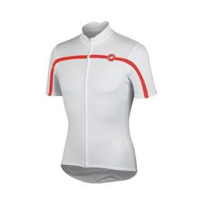Castelli(カステリ) 2013 Classica FZ jersey ジャージ 13009 (001 WHITE, L)