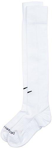 Nike Classic II Sock Calzettoni da Calcio, Bianco/White-Black, L