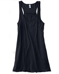 Bella B8800 3.7 oz. Ladies Maxine Flowy Tank - Black Large