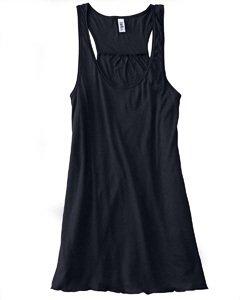 Bella B8800 3.7 oz. Ladies Maxine Flowy Tank - Black Large