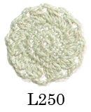 【オリムパス レース糸】エミーグランデ《ビジュー》シルバーラメL250番色25g