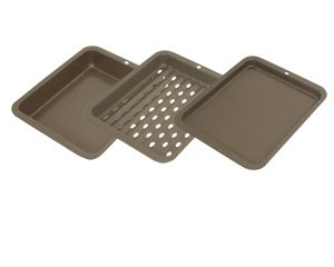 Range Kleen BW5 Non-Stick Petite 3-Piece Bakeware Set (Small Stove With Oven compare prices)