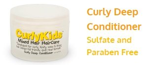 CurlyKids Curly Deep Hair Conditioner, 8 Ounce (Curly Hair Deep Conditioner compare prices)