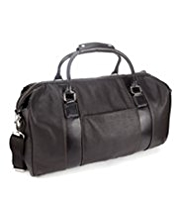 Double Handle Zip Fastening Holdall