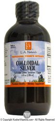 Colloidal Silver 15ppm - 4 OZ,(L A Naturals)